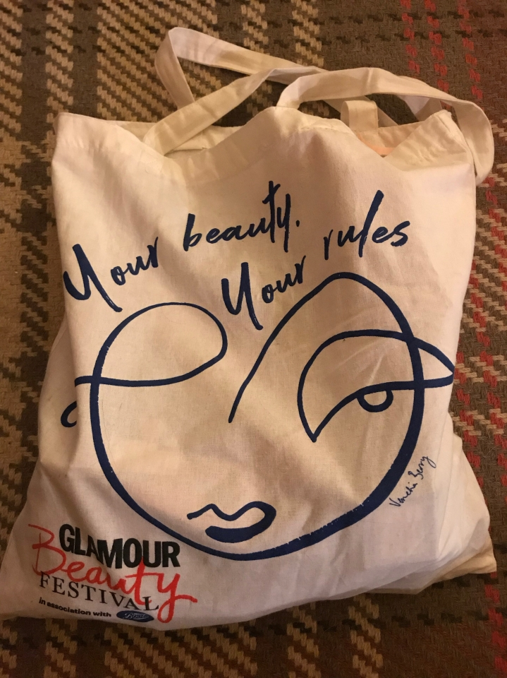 What's in my Goodie Bag from the Glamour UK beautyfestival?!